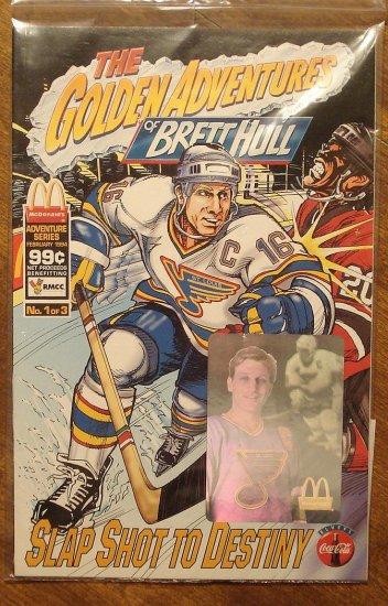 Golden Adventures of Brett Hull comic books #1 NM/M St. Louis Blues Hockey