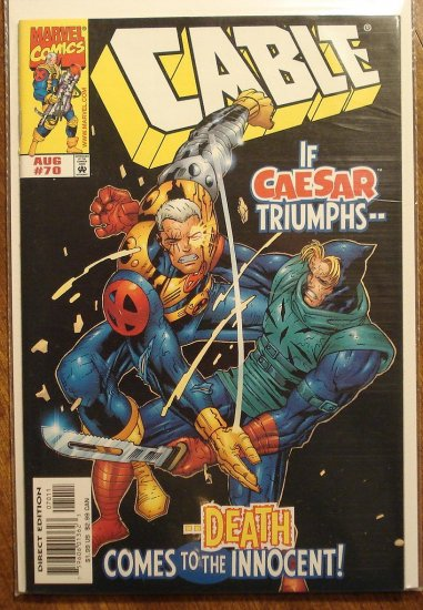 Cable #70 comic book - Marvel comics