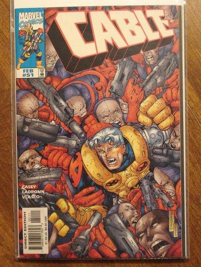 Cable #51 comic book - Marvel comics