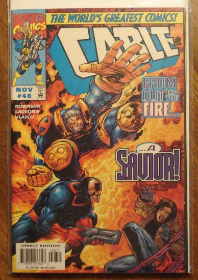 Cable #48 comic book - Marvel comics
