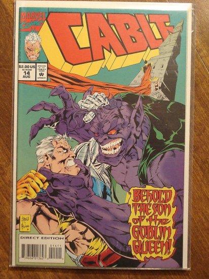 Cable #14 comic book - Marvel comics