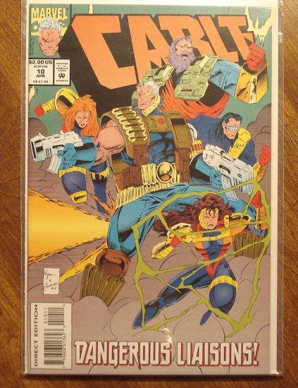 Cable #10 comic book - Marvel comics