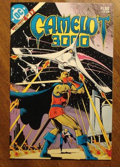 Camelot 3000 #4 comic book - DC Comics