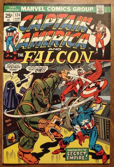 Captain America #174 (1974) comic book, F/VF,  - Marvel Comics