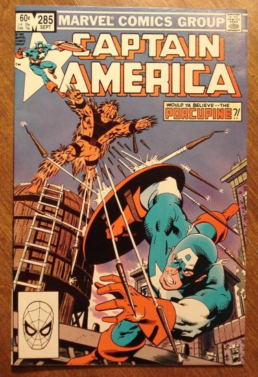 Captain America #285 comic book - Marvel Comics