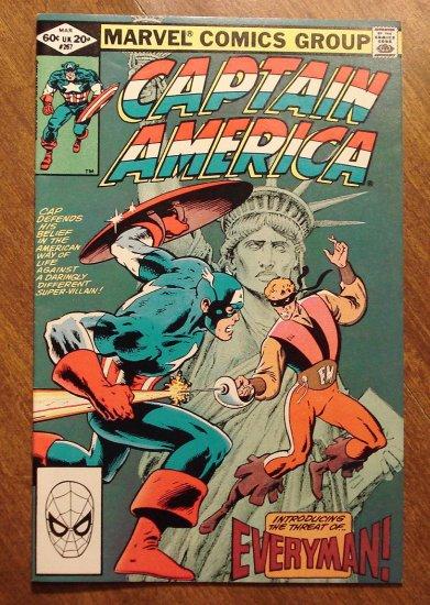 Captain America #267 comic book - Marvel Comics