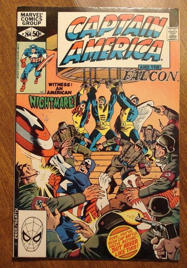 Captain America #264 comic book - Marvel Comics