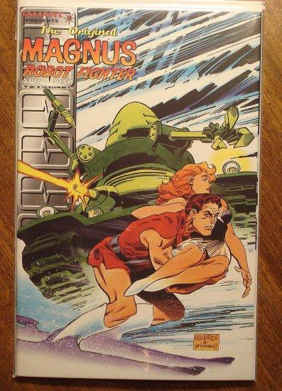 The Original Magnus Robot Fighter #1 comic book - Valiant Comics