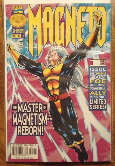Magneto #'s 1, 2, 3 comic book, Marvel Comics, NM/M, X-Men, Mutants