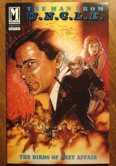 The Man From U.N.C.L.E. (uncle) # 1 comic book - Millennium Comics