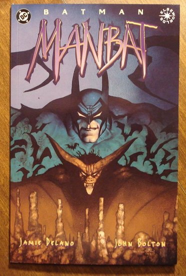 Man-Bat #3 deluxe format comic book - DC Comics, Manbat, Elseworlds