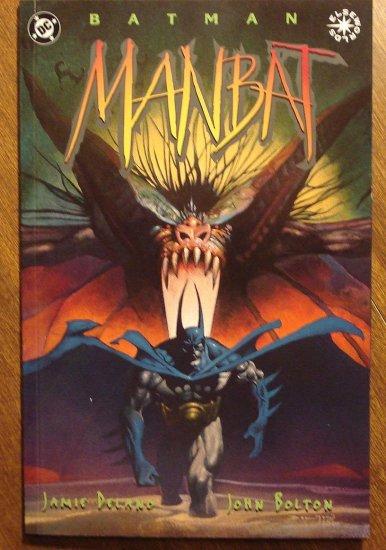 Man-Bat #1 deluxe format comic book - DC Comics, Manbat, Elseworlds