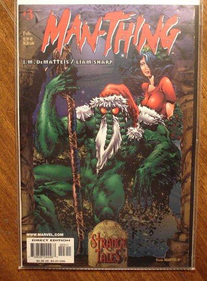 Man-Thing #3 (1998) comic book - Marvel Comics
