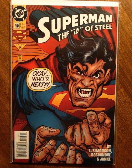Superman: Man of Steel #46 comic book - DC Comics