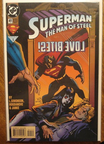 Superman: Man of Steel #41 comic book - DC Comics