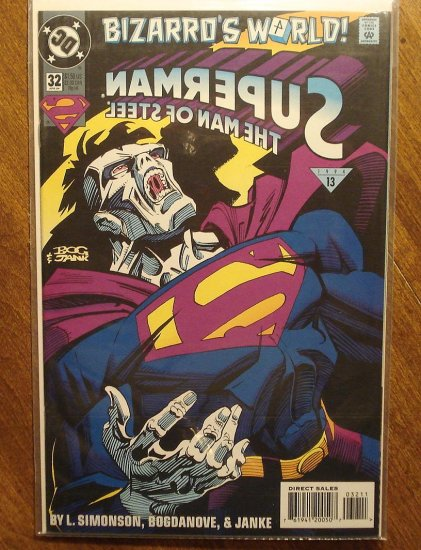Superman: Man of Steel #32 comic book - DC Comics