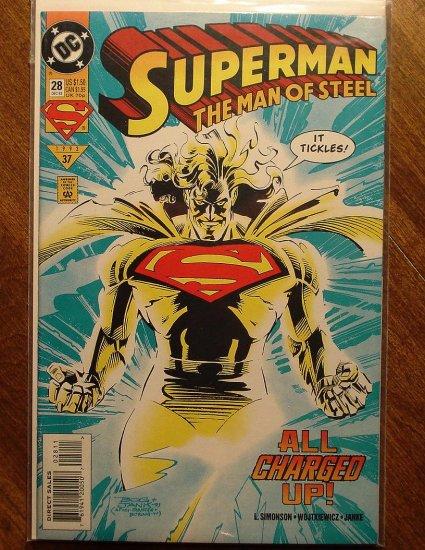 Superman: Man of Steel #28 comic book - DC Comics