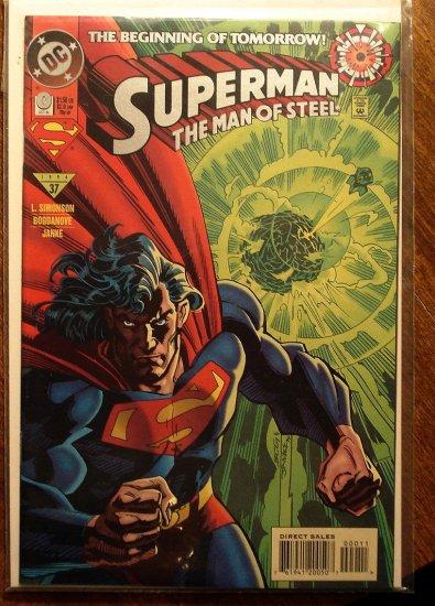 Superman: Man of Steel #0 comic book - DC Comics