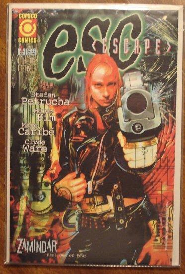 ESC (Escape) #1 comic book - Comico Comics