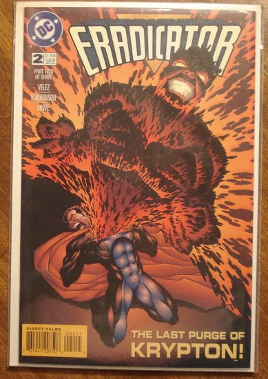 Eradicator #2 comic book - DC Comics
