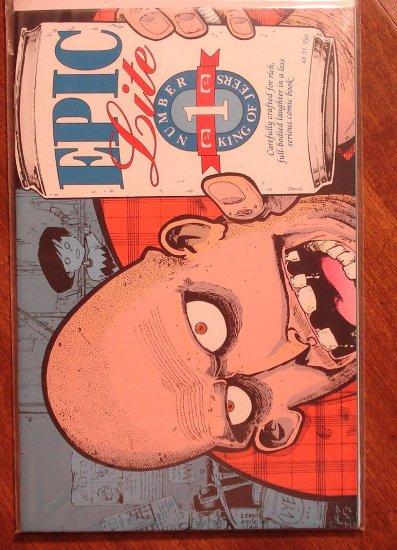 Epic Lite #1 anthology comic book - Marvel (Epic) Comics