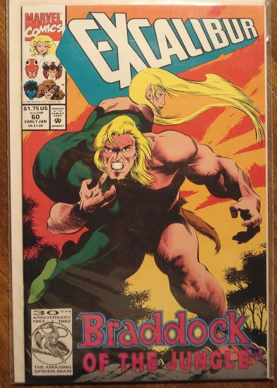 Excalibur #60 comic book - Marvel Comics