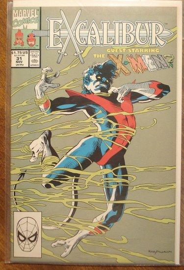 Excalibur #31 comic book - Marvel Comics
