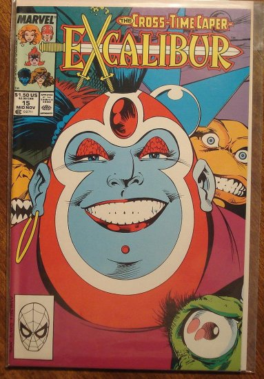 Excalibur #15 comic book - Marvel Comics