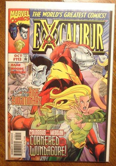 Excalibur #113 comic book - Marvel Comics