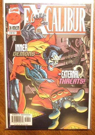 Excalibur #106 comic book - Marvel Comics