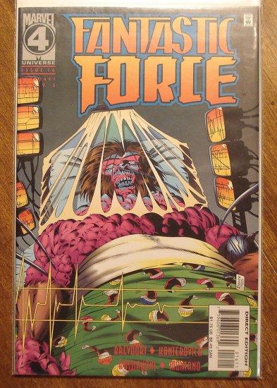 Fantastic Force #16 comic book - Marvel Comics