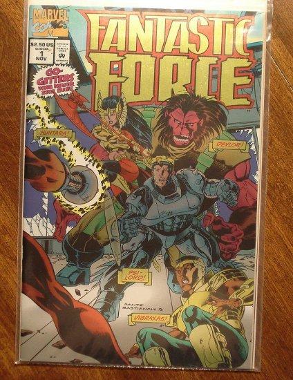 Fantastic Force #1 comic book - Marvel Comics