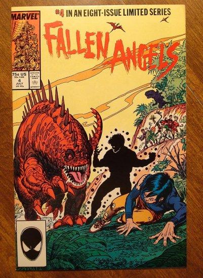 Fallen Angels #4 comic book - Marvel Comics