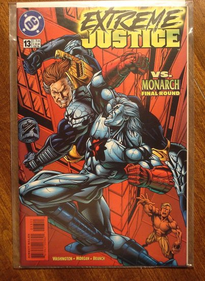 Extreme Justice #13 comic book - DC Comics