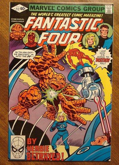 Fantastic Four (4) #217 comic book - Marvel Comics