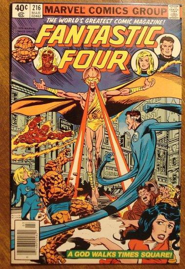 Fantastic Four (4) #216 comic book - Marvel Comics