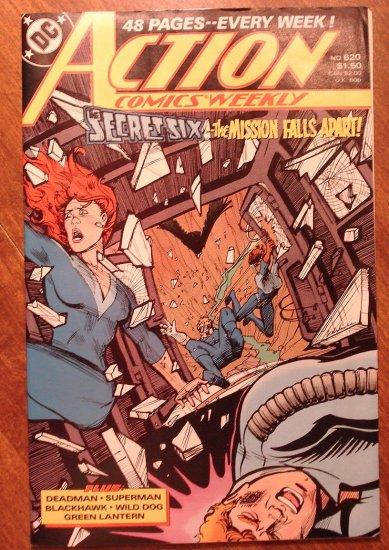 Action Comics Weekly #620 comic book - DC Comics - Superman