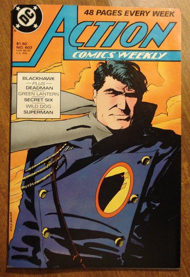 Action Comics Weekly #603 comic book - DC Comics - Superman