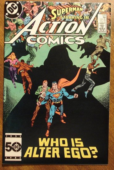 Action Comics #570 comic book - DC Comics - Superman