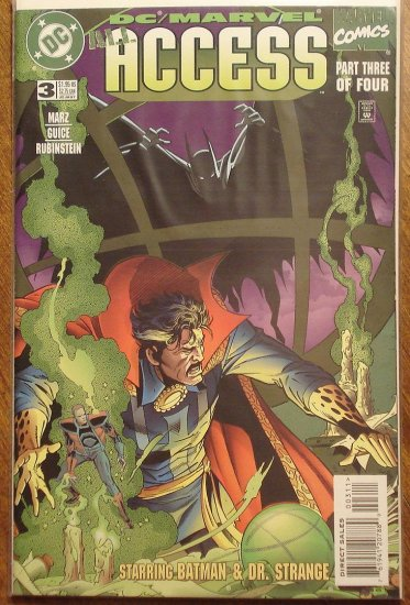 All Access #3 comic book - DC & Marvel Comics,  Batman & Dr. Strange