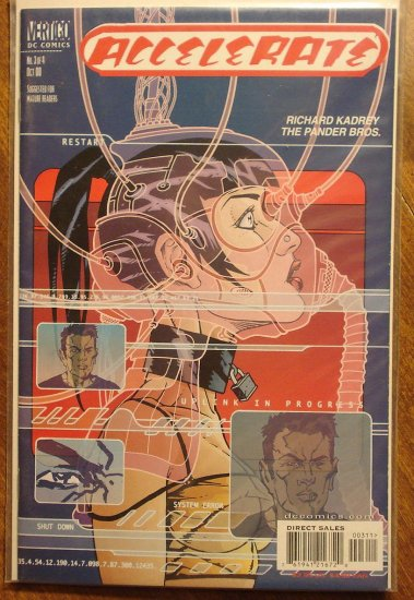 Accelerate #3 comic book - DC 'Vertigo' Comics
