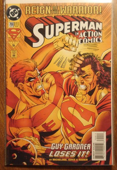 Action Comics #709 comic book - DC Comics - Superman
