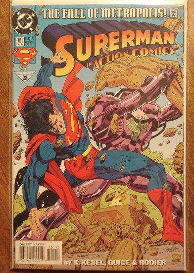 Action Comics #701 comic book - DC Comics - Superman