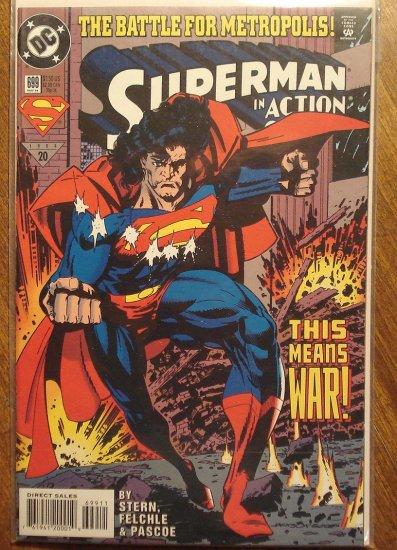 Action Comics #699 comic book - DC Comics - Superman