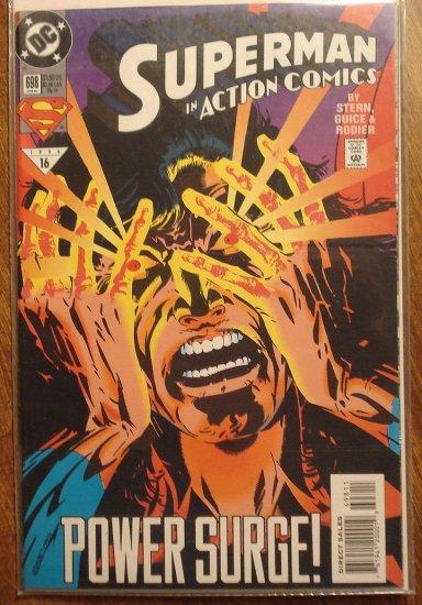 Action Comics #698 comic book - DC Comics - Superman