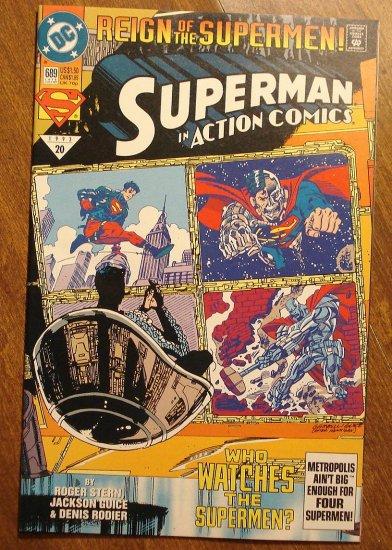 Action Comics #689 comic book - DC Comics - Superman