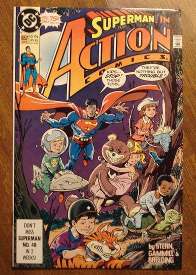 Action Comics #657 comic book - DC Comics - Superman