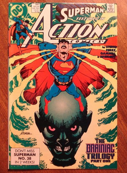 Action Comics #647 comic book - DC Comics - Superman