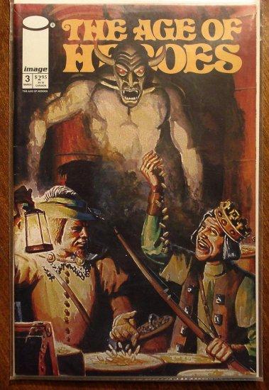 Age of Heroes #3 comic book - Image Comics