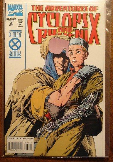 Adventures of Cyclops & Phoenix #2 comic book - Marvel Comics, X-Men, mutants